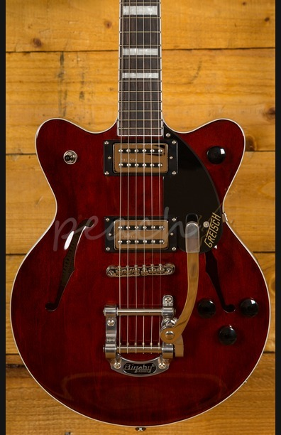 Gretsch G2655T Streamliner Center-Block JR DC with Bigsby Walnut Stain
