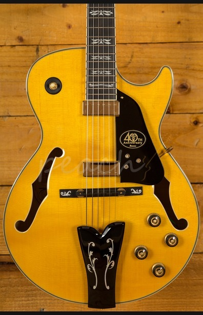 Ibanez GB40THII-AA George Benson 40th Anniversary Antique Amber