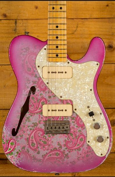 Fender Custom Shop Masterbuilt Greg Fessler Paisley Thinline Relic