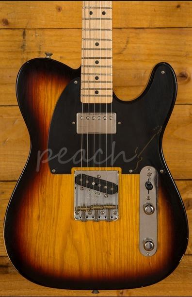 Fender Special Edition Roadworn Hot Rod Tele 3 Tone Sunburst