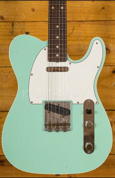 Fender Custom Shop 62 Tele Custom Journeyman Relic Surf Green