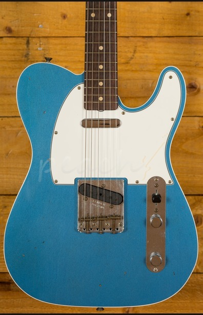 Fender Custom Shop '62 Tele Custom Journeyman Relic Lake Placid Blue
