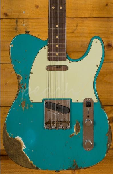Fender Custom Shop NAMM 2017 Ltd 63 Relic Tele Aged Taos Turquoise