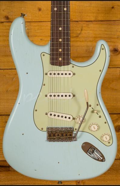 Fender Custom Shop 60 Strat Journeyman Relic Sonic Blue