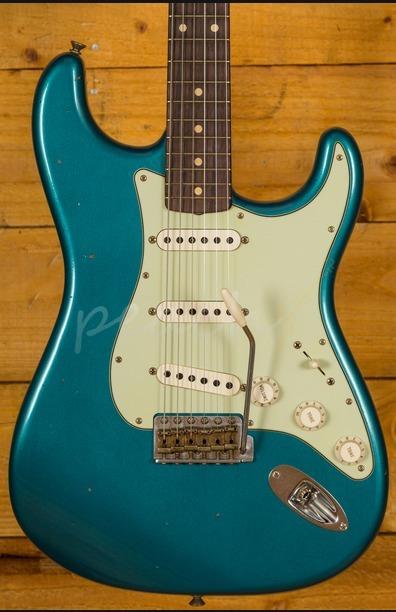 Fender Custom Shop 60 Strat Journeyman Relic Ocean Turquoise