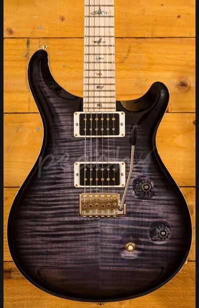 PRS Custom 24 Purple Mist Pattern Thin Maple Neck Swamp Ash Back