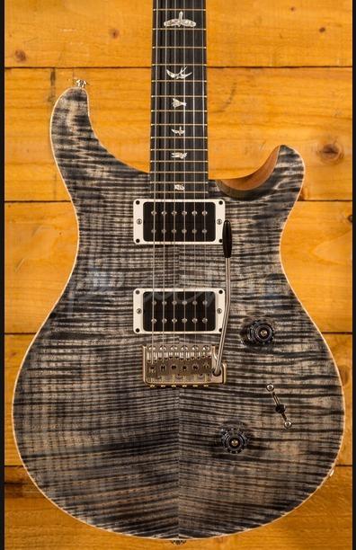 PRS Custom 24 Charcoal 10 Top Ebony Board