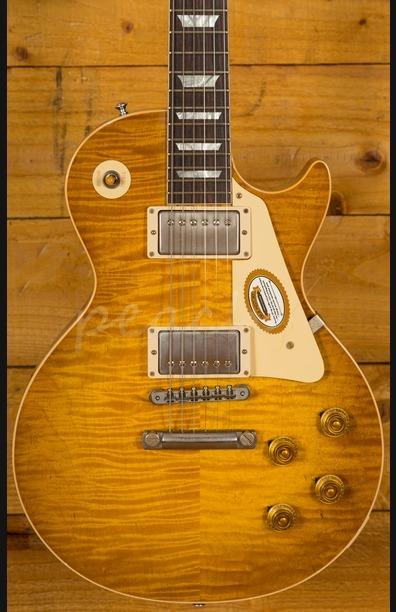 Gibson Custom True Historic '59 Les Paul Reissue Aged - Vintage Lemon Burst