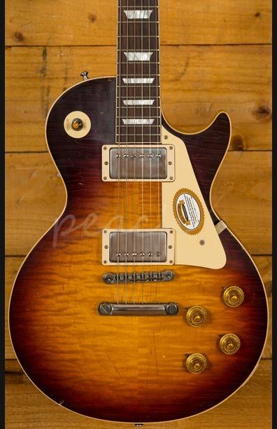 Gibson Custom True Historic 1959 Les Paul Reissue Aged - Vintage Dark Burst