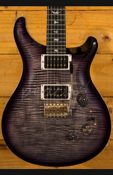 PRS Custom 24/08 Wood Library Charcoal Purpleburst Used