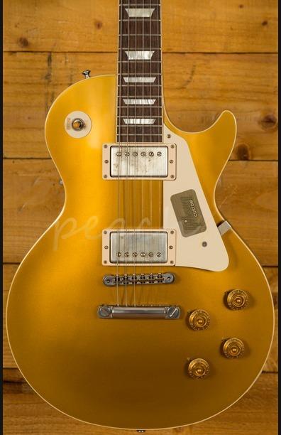 Gibson Custom Standard Historic 1957 Les Paul Goldtop Darkback VOS
