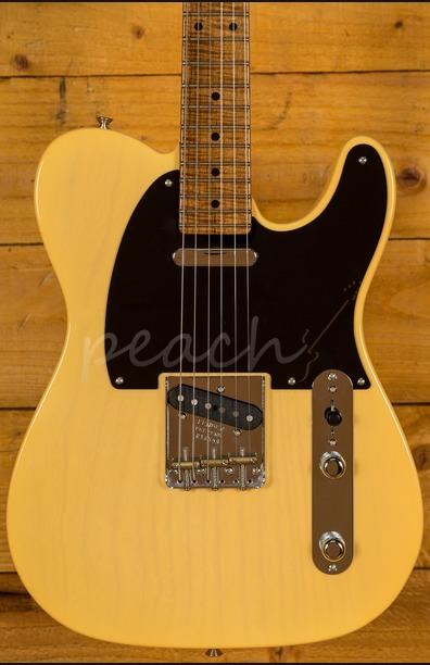 Fender Custom Shop 52 Tele NOS Nocaster Blonde AA Flame Neck