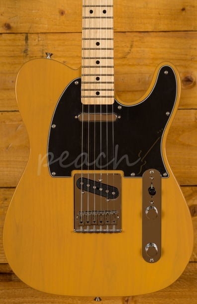 Fender Mexican Standard Tele Butterscotch Blonde Maple neck