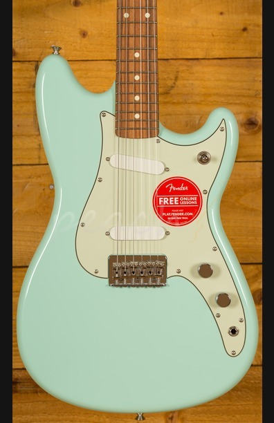 Fender Duo-Sonic Pau Ferro Surf Green