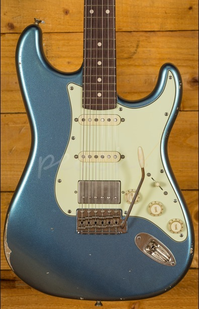 Xotic California Classic XSC-2 Ice Blue Metallic Medium Aged
