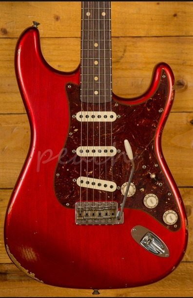 Fender Custom Shop 60 Strat Relic Candy Apple Red