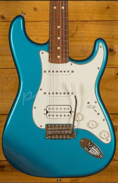 Fender Mexican Standard HSS Strat Lake Placid Blue Pau Ferro