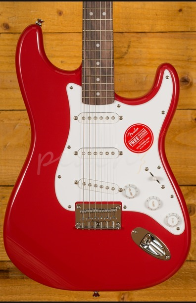 Squier Bullet Stratocaster Hard Tail, Rosewood Fingerboard, Fiesta Red
