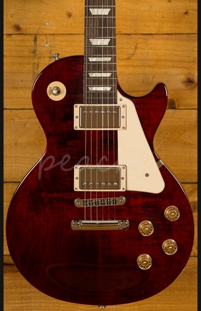 Gibson 2016 Les Paul Studio - Wine Red - Chrome Hardware