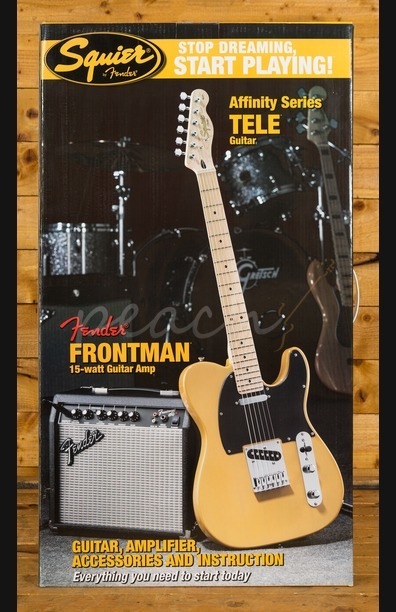 Squier Affinity Series Telecaster Pack