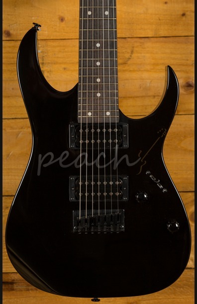 Ibanez GRG7221-BKN 7 String RG Series Black Night