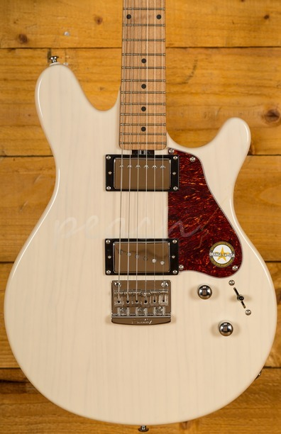 Music Man Sterling Valentine Roasted Maple Neck Trans Buttermilk