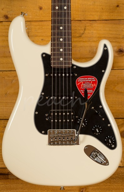 Fender American Special Strat HSS Olympic White RW
