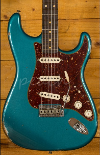 Fender Custom Shop 60 Strat Relic Ocean Turquoise