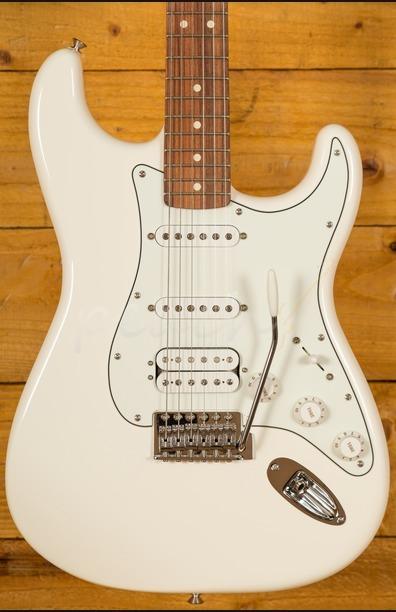 Fender Mexican Standard HSS Strat Arctic White Pau Ferro