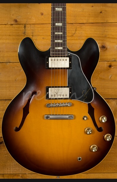 Gibson Custom 1963 ES-335 Block Historic Burst VOS 2016