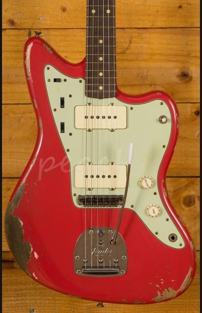 Fender Custom Shop '59 Jazzmaster Heavy Relic Fiesta Red