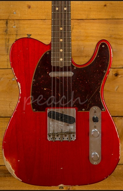 Fender Custom Shop 2017 63 Tele Relic Candy Apple Red