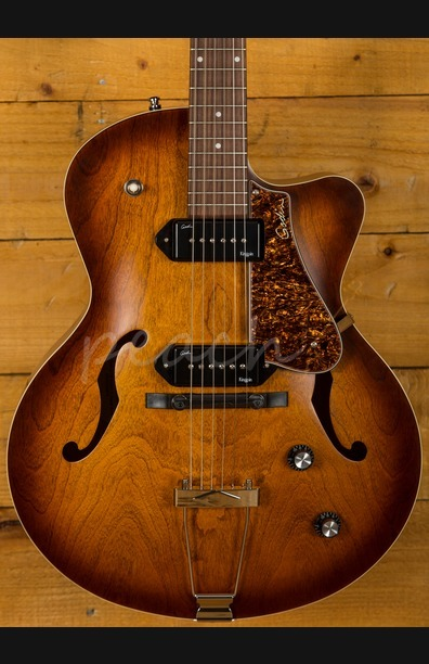 Godin 5th Avenue Kingpin CWII Cognacburst