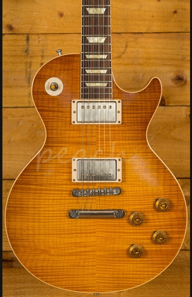 Gibson LPR8 Flame Top Antique Teaburst VOS Ultra Select Used