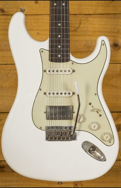 LSL Saticoy One HSS Vintage White Nickel Humbucker