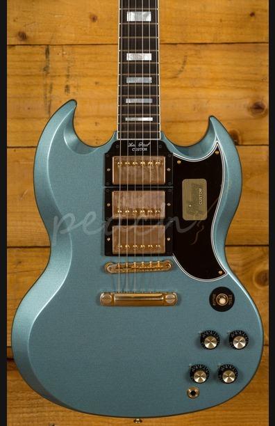 Gibson Custom SG M2M Pelham Blue Lightly Aged