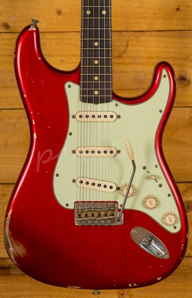 Fender Custom Shop 60 Stratocaster Relic Candy Apple Red
