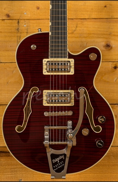 Gretsch G6659TFM Broadkaster Jr Cherry Stain