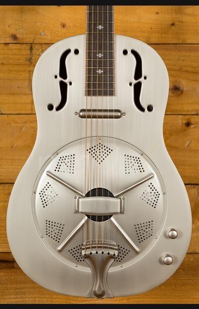 Gold Tone Paul Beard Metal Thin Body Resonator