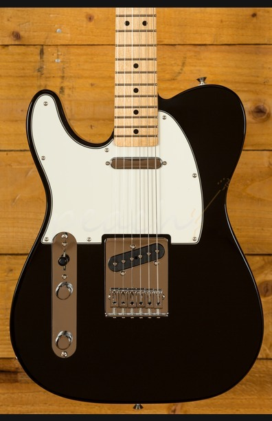 Fender Mexican Standard Tele Left Handed Black Maple