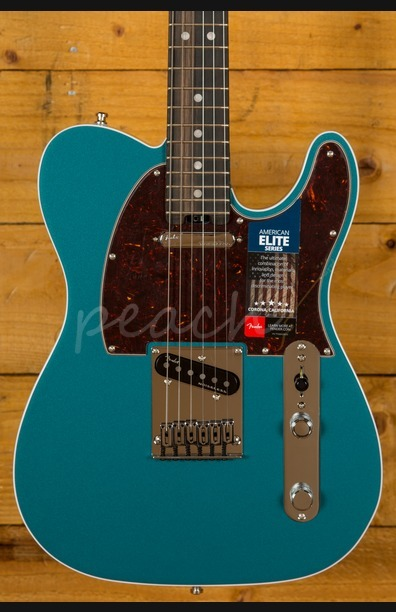Fender Elite Tele Ocean Turquiose with Ebony Fingerboard