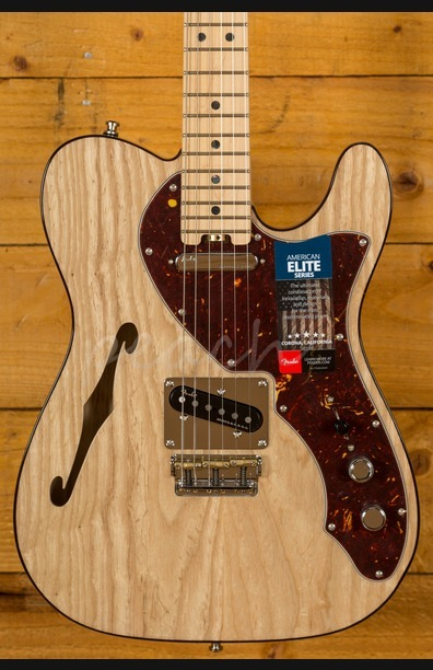 Fender American Elite Thinline Telecaster - Natural