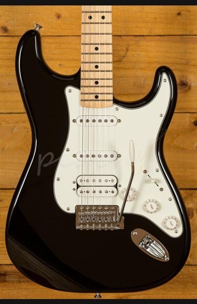 Fender Mex Standard HSS Strat Black Maple