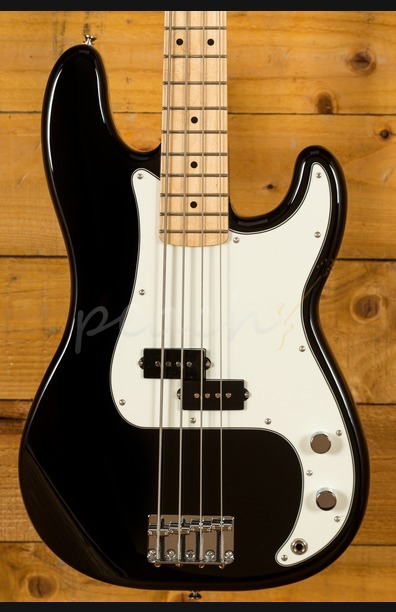 Fender Mexican Standard Precision Bass Black Maple Neck