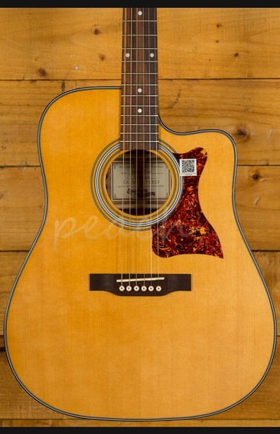 Epiphone Masterbuilt DR400MCE Electro Acoustic Guitar - Natural Satin