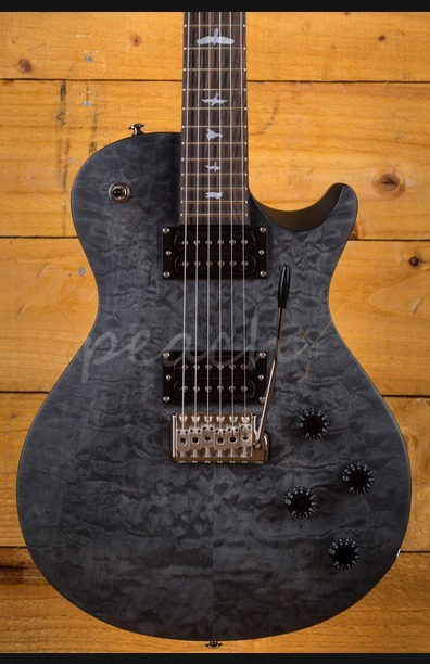 PRS SE Tremonti Custom Quilt Satin Grey Black