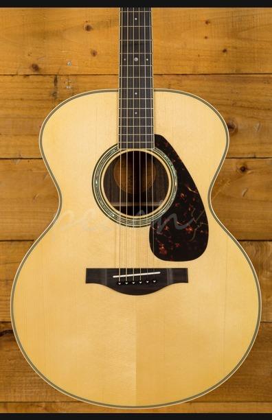 Yamaha LJ6 ARE Acoustic Natural With Hard Gigbag