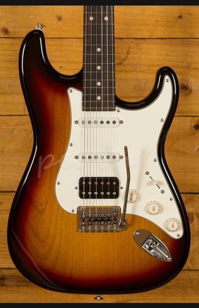 Suhr Classic Pro Peach LTD - HSS Rosewood 3-Tone Sunburst