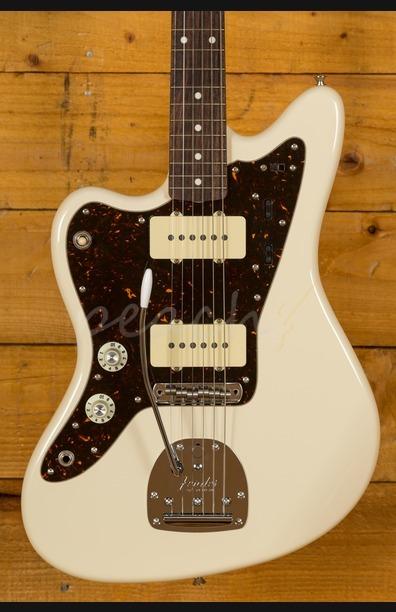 Fender FSR Jazzmaster Left Handed Vintage White upgraded Used