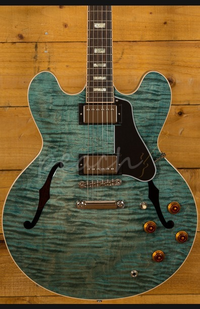 Gibson Memphis ES-335 Turquoise 2016